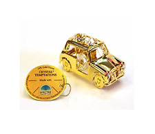 NEW Crystal Temptations Gold Car With Swarovski Elements - Birthday Gifts