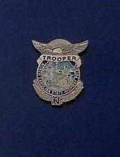 North Carolina State Highway Patrol TROOPER mini badge lapel pin NC police
