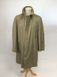 Vintage Mod Londonfog Maincoat Trenchcoat with Removable Alpaca / mohair lining