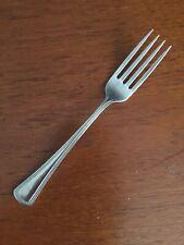"""ONEIDA 1881 ROGERS  NEEDLEPOINT  ARTISTRY BEADED 7.25"""" Stainless Dinner Fork"""