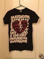 Mayday Parade Shirt Size XS All Time Low The Maine You Me At Six Every Avenue