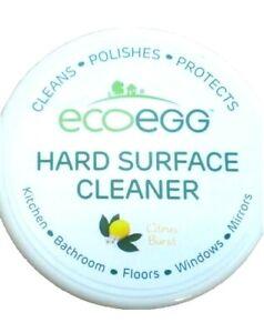 NEW Ecoegg 3 in 1 Hard Surface Cleaner citrus burst with sponge 300g