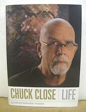 Chuck Close Life by Christopher Finch 2010 Hb/Dj First Edition