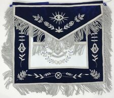 New Freemason Masonic Blue Past Master Apron