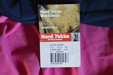 ladies new with tag work pants by hard yakka. size 14s colour navy