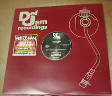 "METHOD MAN THE MOTTO & WHAT'S HAPPENIN FEAT BUSTA RHYMES vinyl 12"" single NM"