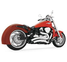Sharp Curve Radius Full Exhaust Chrome Freedom Performance MS00005 Suzuki M109R