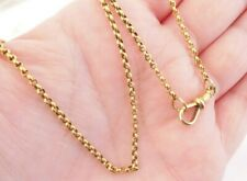 11.6 grams, not 18ct or 9ct 15ct gold necklace chain Victorian heavy