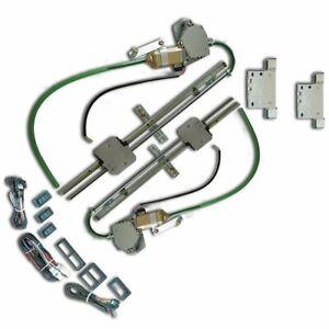 38-53 Buick Power Window Kit bosch motors 12 volt kustom channel parts project