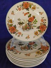 Wedgwood Eastern Flowers DINNER PLATE (s) multiples  *have more items to set*
