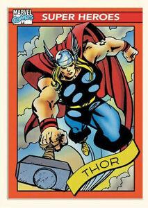 Marvel Comics Thor Poster 30 X 40 cm Trading Card Style MP12676P FREEPOST