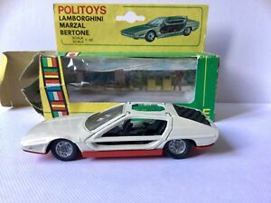 Lamborghini Marzal Bertone In Scala 1:43 Politoys Export Vintage