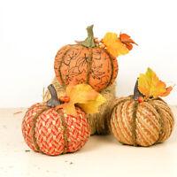 Halloween Pumpkin Handmade Fall Home Decor Foam DIY Garden Thanksgiving New Real