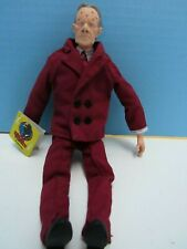 "Vintage 1990 Dick Tracy'S Pruneface 9"" Soft & Vinyl Figure Nos With Tags"
