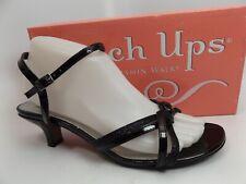 Touch Ups Womens Melanie Black Ankle Strap Heels Sandals SZ 8.5 M, NEW,  D11239
