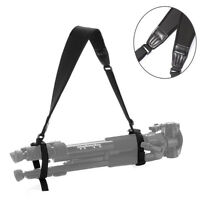 Padded Shoulder Neck Strap Carrying Bag for Manfrotto Tripod Monopod Light Stand