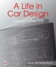 Livre Une vie en voiture design-Jaguar, Lotus, TVR Chapman Bateaux