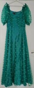 Ballkleid Brautjungfernkleid Abendkleid Sommer Hochzeitskleid Gr. 40 Türkis Mint