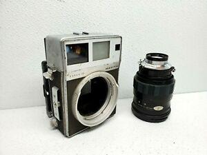 Mamiya Press Super 23 body &  Sekor 150mm f/5.6 lens. for parts or repair.