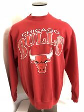 Chicago Bulls Sweatshirt Vintage 90's NBA Michael Jordan Thin 50/50 Men's XL USA