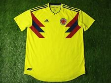 COLOMBIA TEAM 2018/2019 PLAYER ISSUE FOOTBALL SHIRT JERSEY HOME ADIDAS ORIGINAL