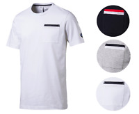 Puma Bmw MotorSport Men's Premium Cotton Graphic DryCell MSP Tee T-Shirt 572773