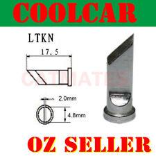 Solder Soldering Station Iron Tip LTKN Lead Free FOR Weller WSP80 WSD81 AU Knife