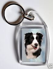 Border Collie Key Ring By Starprint - No 8