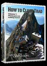 how to climb trad instructional climbing dvd 45 minutes volume 2