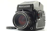 【NEAR MINT+3】 Mamiya M645 1000s AE Finder + Sekor C 80mm f/2.8 From Japan 977