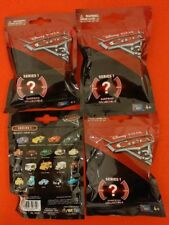 DISNEY CARS 3 SURPRISE COLLECTABLE SERIES 1 LOT (4) BLIND BAGS NEW & SEALED