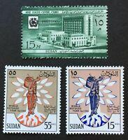 Sudan. Definitive Stamp (2 Sets). SG152/54. 1960. MNH. AF456