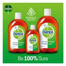Dettol Antiseptic Disinfectant Liquid For First Aid,Personal Hygiene Differ Pack
