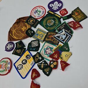 Vintage Scout Patches Badges Beaudesert
