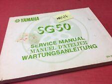 Yamaha SG50 Sting 50 SG revue technique moto Manuel atelier service