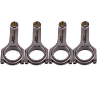Forged Connecting Rods For Honda F20C S2000 2.0L Conrod Bielle Pleuel 153mm