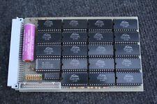 ALTE PLATINE / BOARD WITH 18 * TOSHIBA TC5517APL CMOS STATIC RAM / ICs
