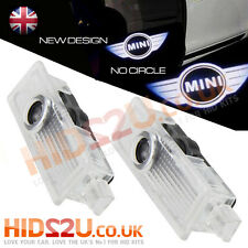2 CREE LED CAR DOOR COURTESY LASER PROJECTOR LOGO GHOST SHADOW LIGHT BMW MINI