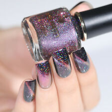 BORN PRETTY Galaxy Nail Polish Holographicss Chameleon Magnetic Black Base Need
