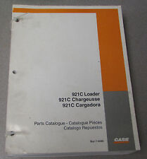 Case 921C Loader Parts Manual Catalog 7-4580 1999