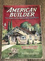 Antique Aug 1922 American Builder Magazine Home Designs Advertisements Hardware