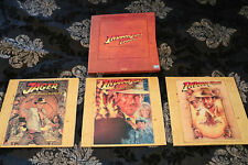 Indiana Jones Trilogie auf Laserdisc - Laser Disc Edition in Box - Top Zustand!