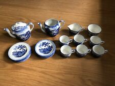 Antique Ridgway Humpreys Clock Scenes from Charles Dickens Child's Tea Service