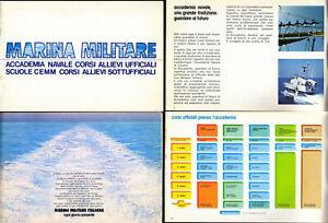MARINA MILITARE-ITALIAN NAVY-Accademia Navale Corsi Allievi Ufficiali Scuole 70s