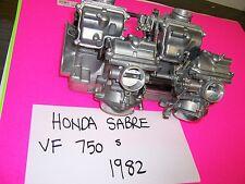 1982  HONDA V 45 SABRE SET OF KEIHIN CARBS CARBURETORS