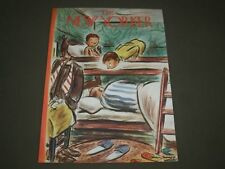 1948 JANUARY 17 NEW YORKER MAGAZINE FRONT COVER ONLY - GREAT ILLUSTRATED ART