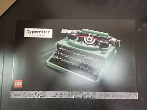 LEGO 21327 Typewriter ,2079 pieces ,BRAND NEW in SEALED Box in hand