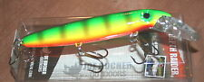 "6"" Baby Depth Raider Joe Bucher Pike Musky Crankbait Miller Perch 528-30197 Lure"