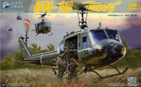 "Kitty Hawk 80154 1/48 UH-1D ""Huey""  Assembly model new"