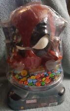 "Rubie's Costume Co Halloween Deadpool 15"" Candy Dish Bowl Holder New very RARE!!"